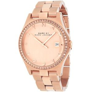 Marc by Marc Jacobs Henry MBM3357 Watch, Rose Gold